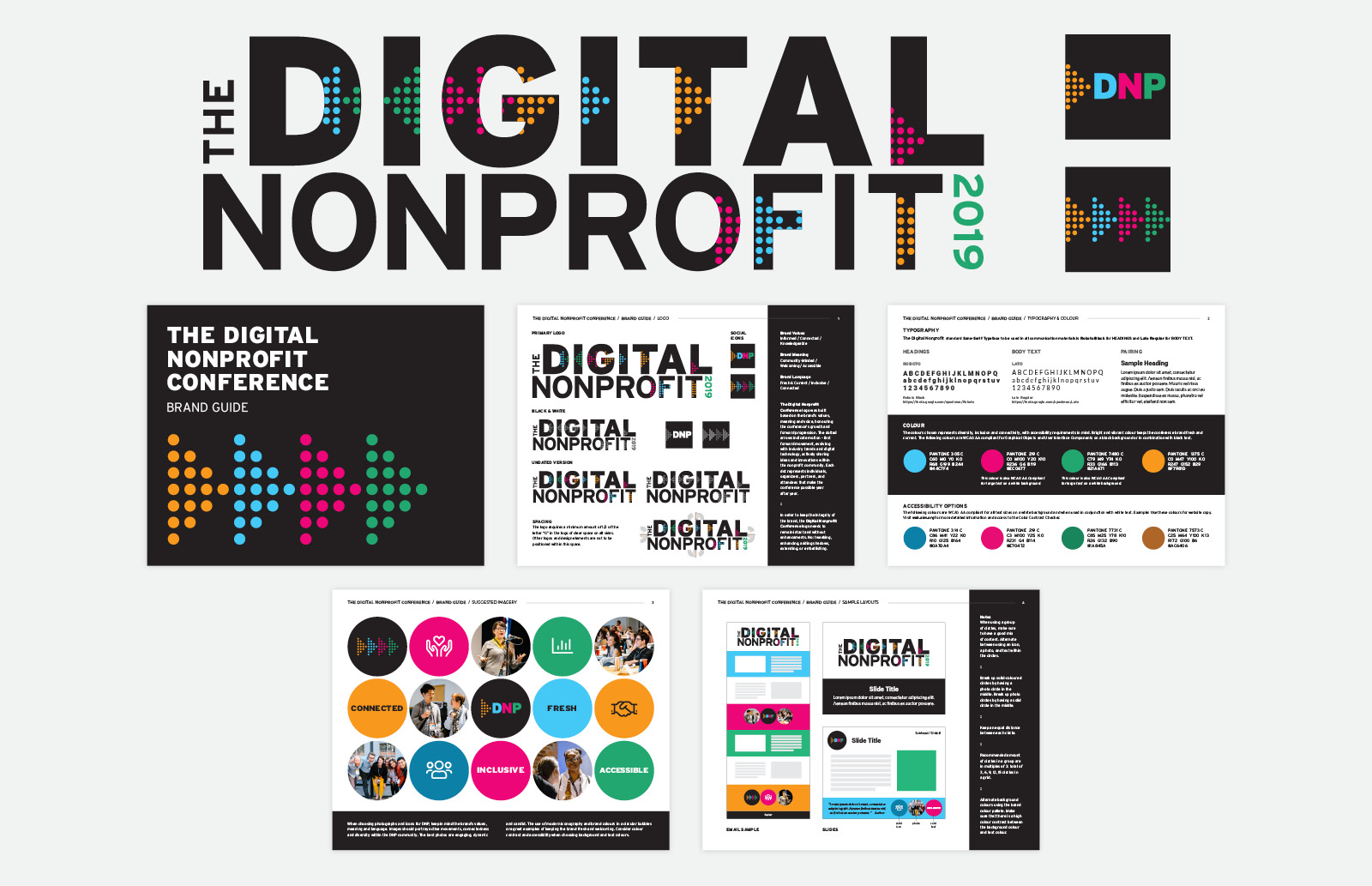 The Digital Nonprofit Conference 2019 Event Branding