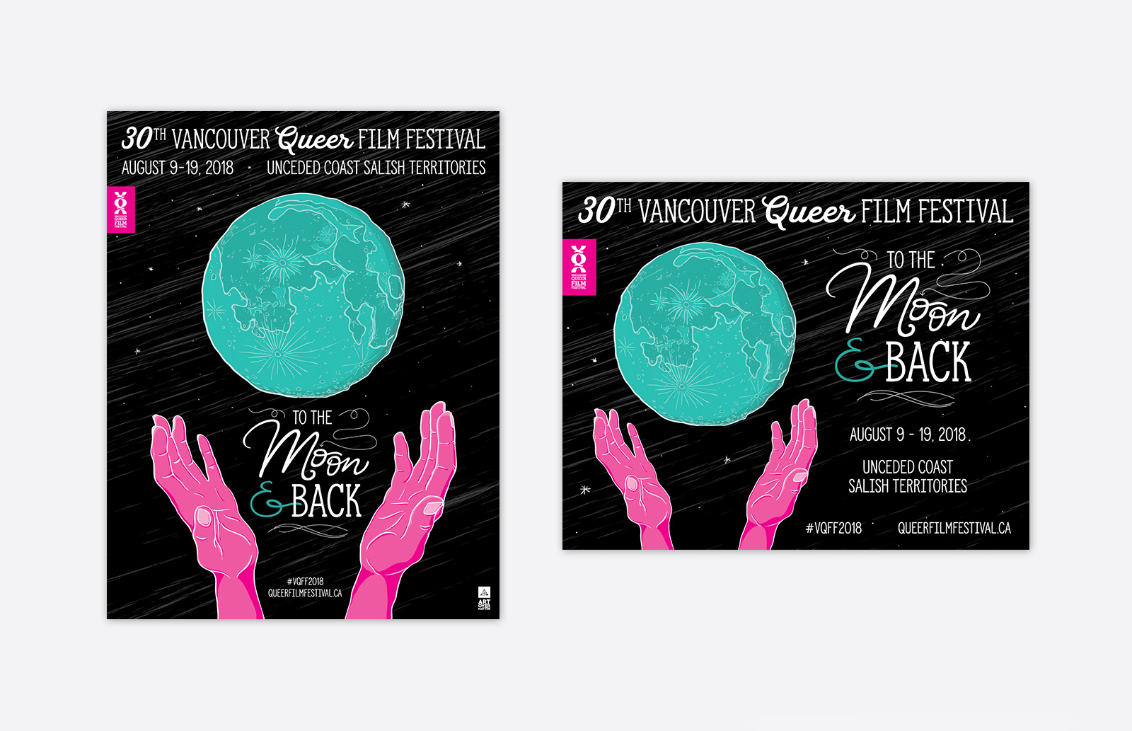 Vancouver Queer Film Festival 2018 Poster
